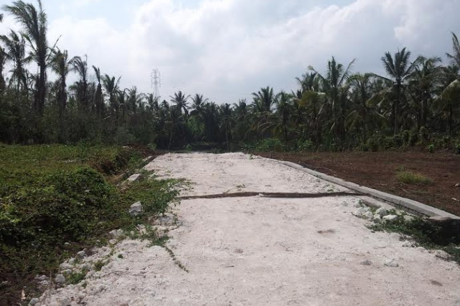 Land for sale in Selbar tabanan